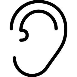 Ear Icon Line Iconset Iconsmind