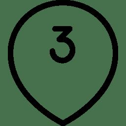 Geo Number icon
