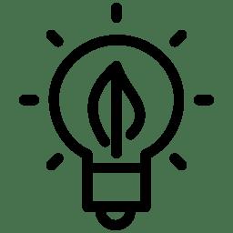 Green Energy Icon Line Iconset Iconsmind