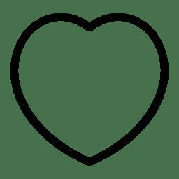 Heart Icon Line Iconset Iconsmind