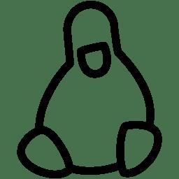 Linux Icon Line Iconset Iconsmind