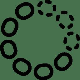 Loading 3 Icon Line Iconset Iconsmind