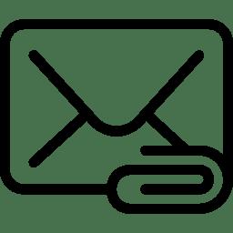 Mail Attachement icon