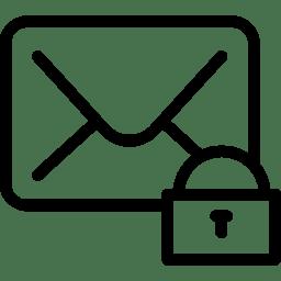 Mail Lock icon