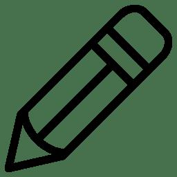 Pencil Icon Line Iconset Iconsmind