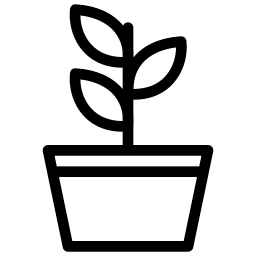 Plant Icon Line Iconset Iconsmind