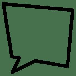 Speach Bubble 10 icon