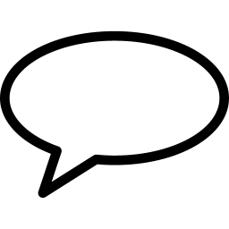 Speach Bubble 6 icon