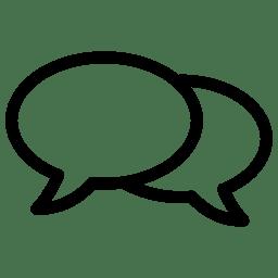 Speach Bubbles icon