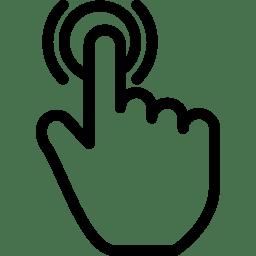 Tap Icon Line Iconset Iconsmind