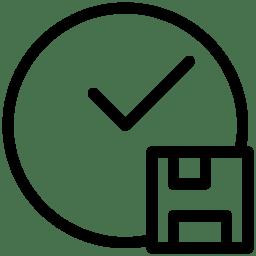 Time Backup Icon Line Iconset Iconsmind