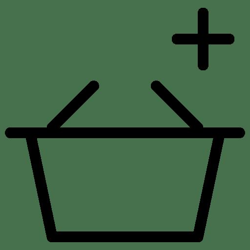 Add-Basket icon