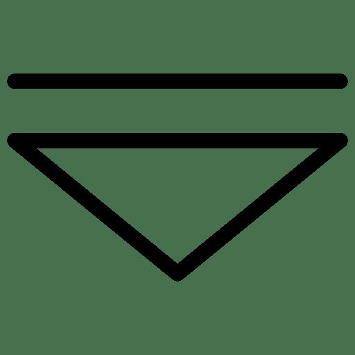 Arrow-Down-3 icon