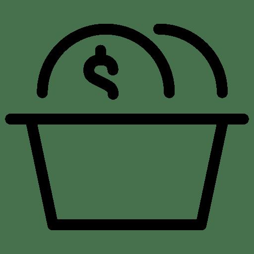 Basket-Coins icon