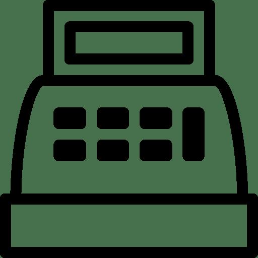 Cash-register-2 icon