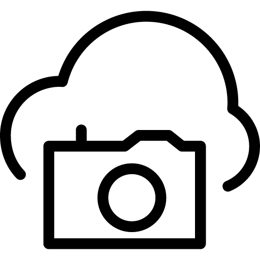 Cloud-Camera icon