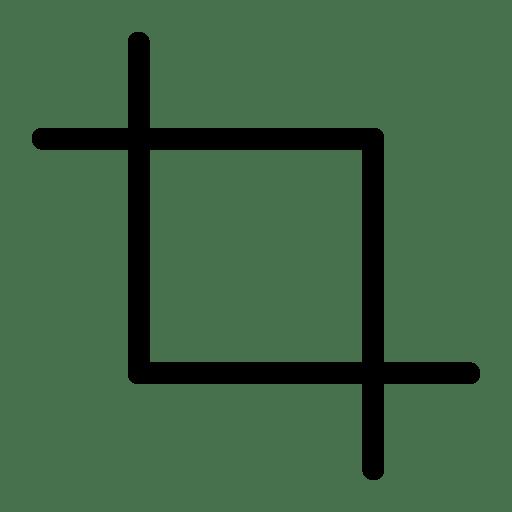 Crop-2 icon