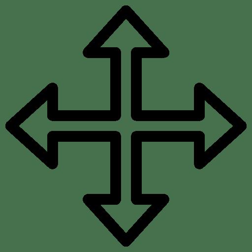 Cursor Move Icon | Line Iconset | IconsMind