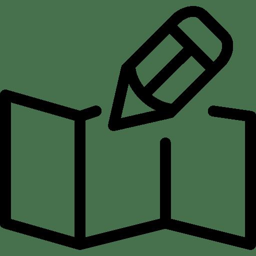 Edit-Map icon