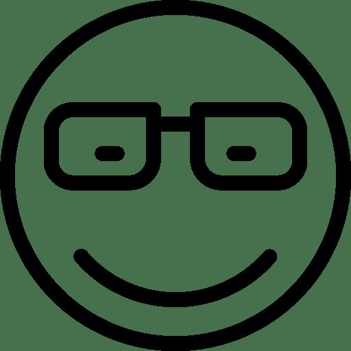 Eyeglasses-Smiley-2 icon