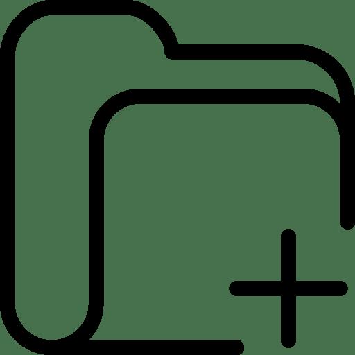 Folder-Add icon