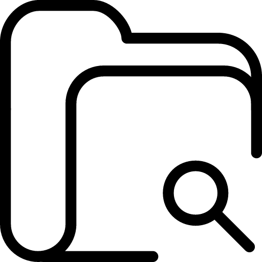 Folder-Search icon