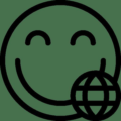 Internet-Smiley icon