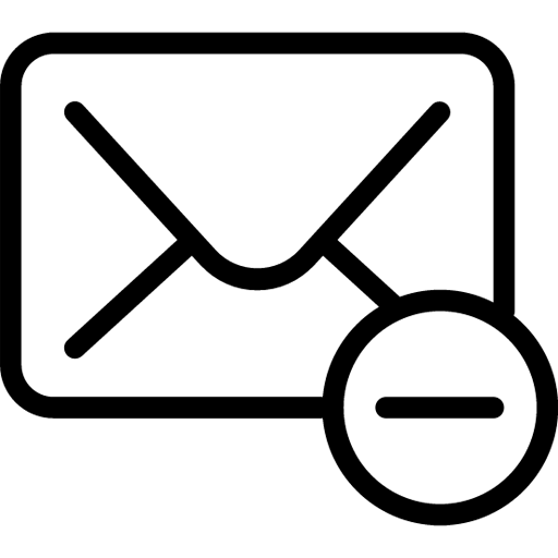 Mail-Delete icon