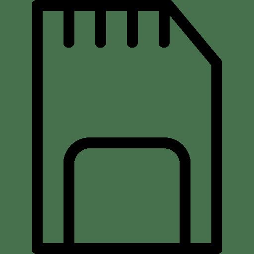 Memory-Card icon