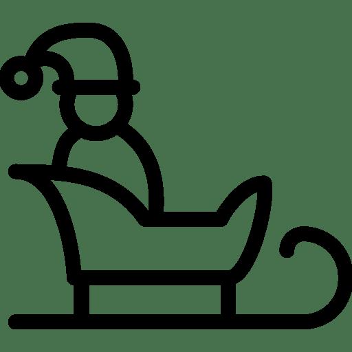 Santa-onSled icon