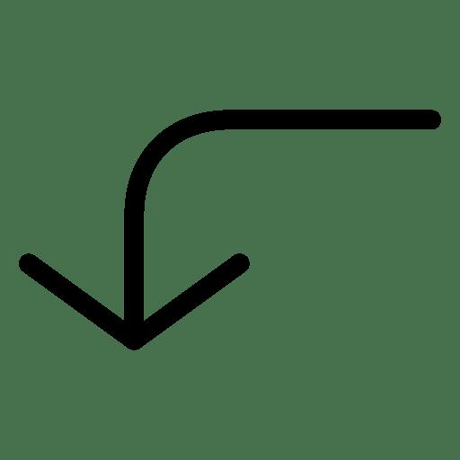 Turn-Down-2 icon