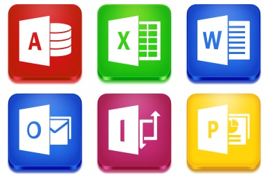 Microsoft Office 2013 Icons