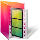 Folders movies icon