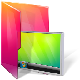 Folders desktop icon