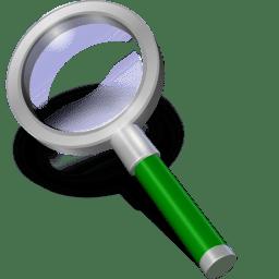 Search green dark icon