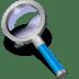 Search-blue icon