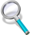 Search-cyan icon
