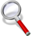 Search-red icon