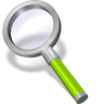 Search-green-neon icon