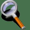 Search-orange icon
