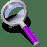 Search-purple icon