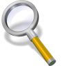 Search-yellow icon