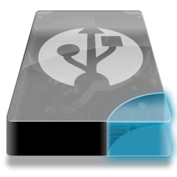 Drive 3 cb external usb icon