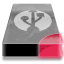 Drive 3 br external usb icon
