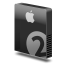 Drive slim bay 2 apple icon