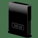 Drive slim internal 500gb icon