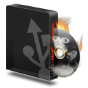 Dvd burner usb burning icon