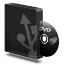 Dvd burner usb icon