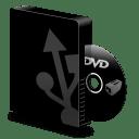 Dvd burner usb icon