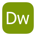 MetroUI Apps Adobe Dreamweaver icon